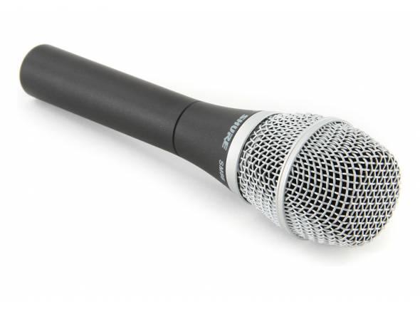 Shure SM86   Microfone condensador cardioide para voz principal e backing. Inclui bag
