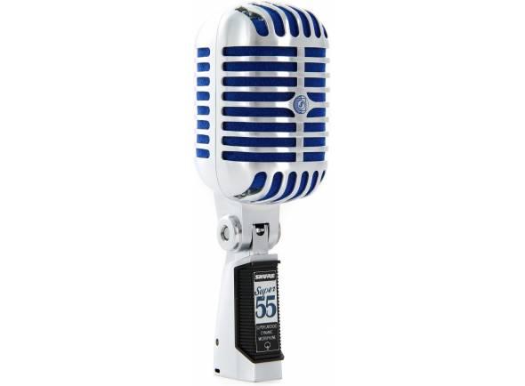Microfone Vocal Dinâmico Shure Super 55 Deluxe