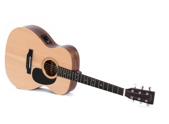 Outras guitarras acústicas Sigma Guitars 000ME+ Natural Satin