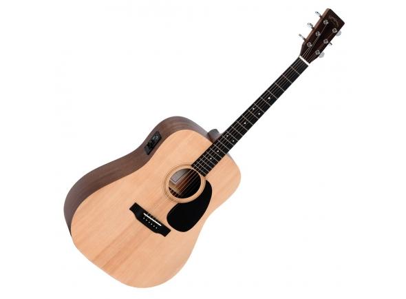 Guitarras Dreadnought Sigma Guitars DME+ Dreadnought Natural Satin