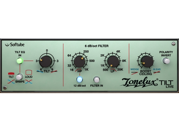 Softube Tonelux Tilt and Tilt Live