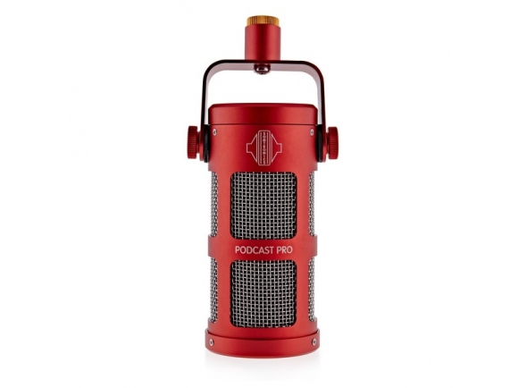 Microfones broadcast Sontronics Podcast Pro - Red