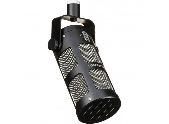 Microfone Vocal Dinâmico Sontronics  Podcast Pro - Space Grey