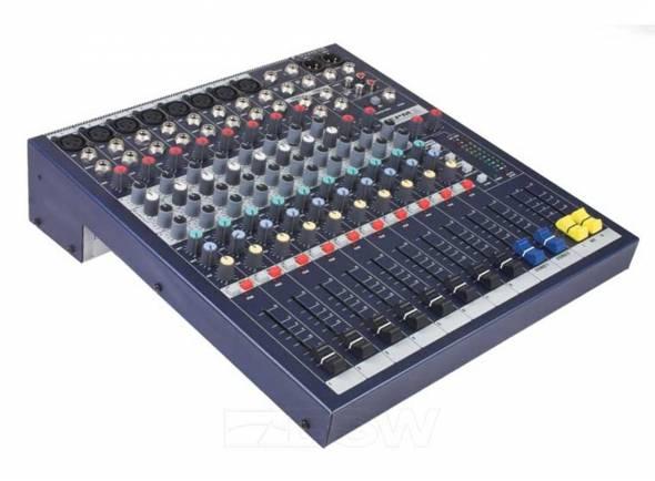 Soundcraft EPM 12   Mesa de Mistura sem Efeitos Soundcraft EPM12