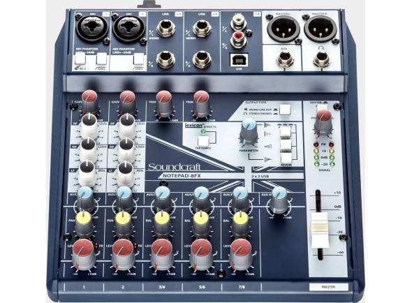 Mesa de Mistura Analógica Soundcraft Notepad-8FX