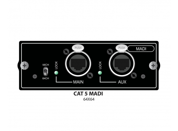 Soundcraft Si Series Madi Card
