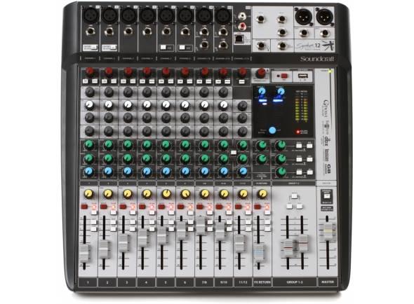 Mesa de Mistura Analógica Soundcraft Signature 12MTK