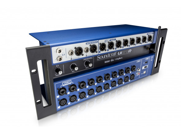 Soundcraft Ui24R B-Stock   Mesa de Mistura Digital Soundcraft UI24Roferece 24 canais de entrada, o lendário processamento de sinais da Lexicon, dbx e DigiTech, controlo sem fios intuitivo e integração com outros sistemas da família Harman Connected PA.
