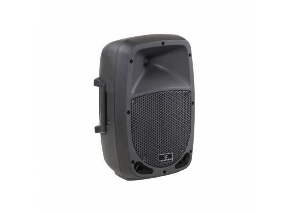 """Soundsation GO-SOUND 8A   Altifalante ativo de 2 vias  Amplificador de potência AB de classe 320 watts  8 """"woofer com driver de compressão de 1"""""""
