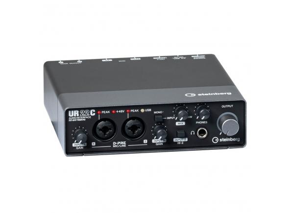 Interface Áudio USB Steinberg UR22C