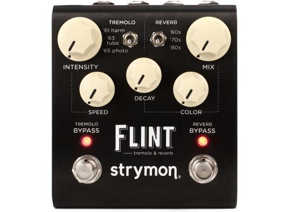 Efeitos reverb e hall Strymon Flint