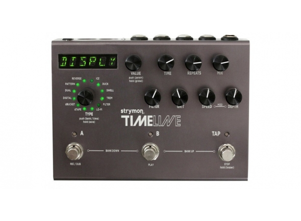 Delays / Echos Strymon Timeline