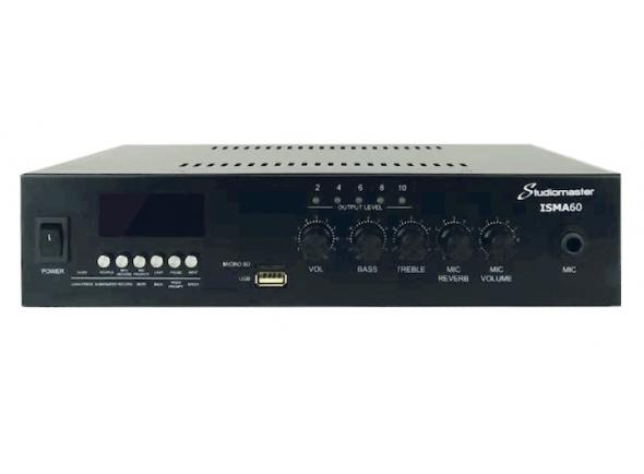 Amplificadores Studiomaster ISMA60