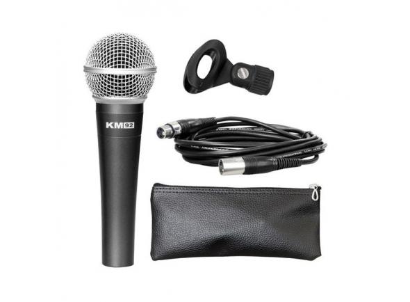 Microfone Vocal Dinâmico Studiomaster KM92