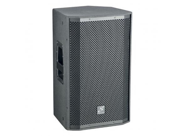 """Studiomaster VENTURE 12A B-Stock    12 """"600W (RMS) 2 VIA ACTIVE  Amplificação Classe D para um desempenho óptimo   Resposta de freqüência: 60Hz - 18kHz (-3dB)    Faixa de freqüência: 55Hz - 20kHz (-10dB)    Rms: LF 400W HF 200W    Poder do sistema de pico: 1200W    Frequência de crossover: 1.7kHz    Max SPL: 132dB    Conexões de entrada: 2 canais, XLR, Jack, phono RCA    Requisitos de alimentação: 230 / 115V   Vários pontos de suspensão M10"""