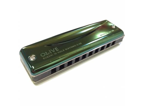 Harmónica diatónica  Suzuki Olive C20C