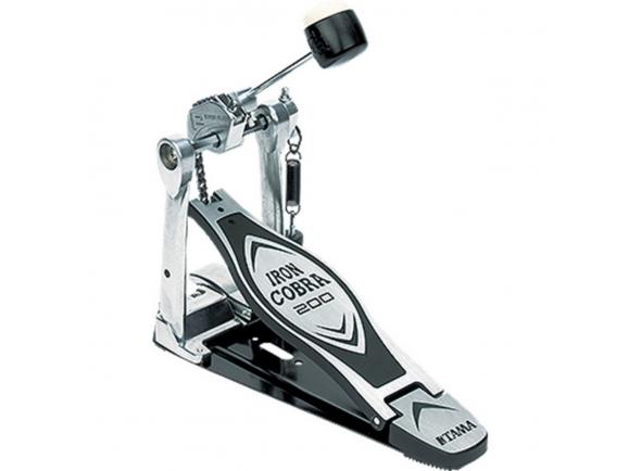 Pedal de bombo simples Tama Iron Cobra HP200P Single Pedal