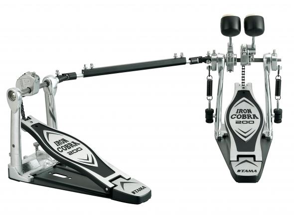 Pedal de bombo duplo Tama Iron Cobra HP200PTW Dbl. Pedal