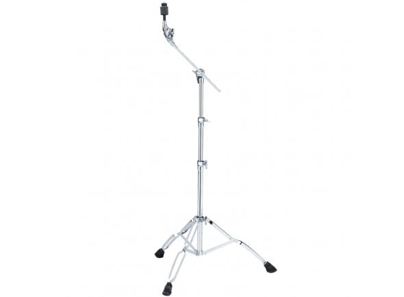 suportes de pratos com girafa Tama Suporte girafa p/ Pratos HC63BW, incl. Cymbal Mate QC8