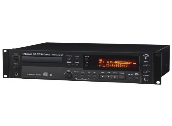 Gravadores Digitais Tascam CD-RW 900 MK2