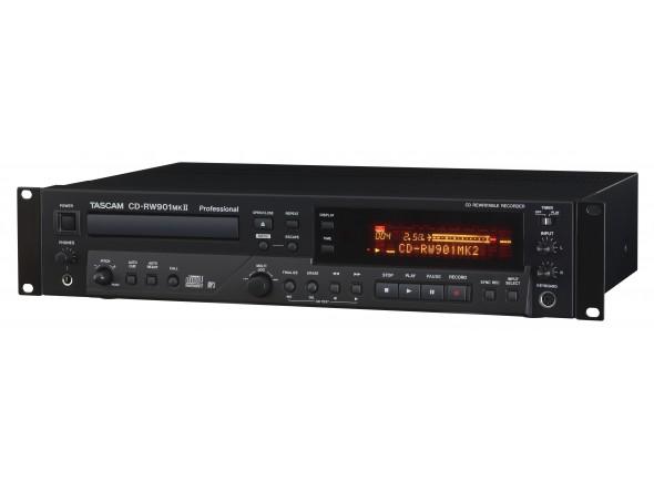 Gravadores Digitais Tascam CD-RW 901 Mk2
