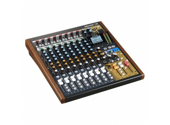 Tascam Model 12 Analog Mixer with Digital Recorder