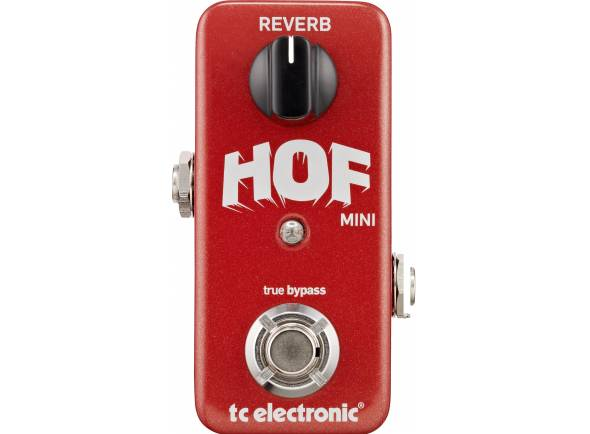 Efeitos reverb e hall TC Electronic Hall of Fame Mini Reverb