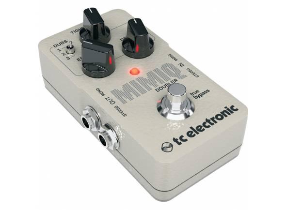 TC Electronic Mimiq Doubler  Os controles da TC Electronics Mimiq Doubler permitem a manipulação de cada clone com precisão para alcançar o timbre desejado