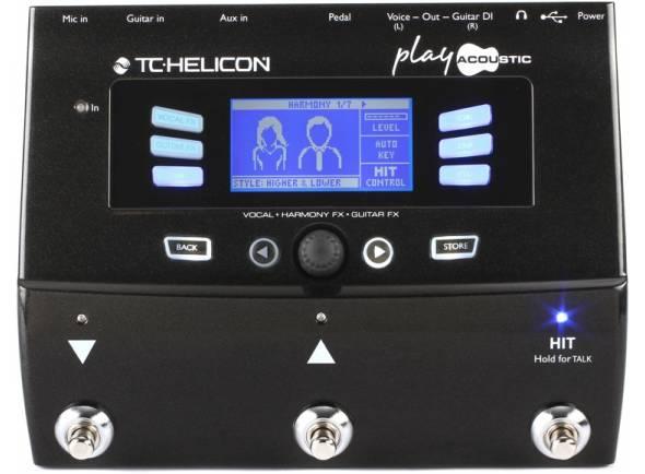 TC Helicon Play Acoustic  Processador de voz TC Helicon Play Acoustic