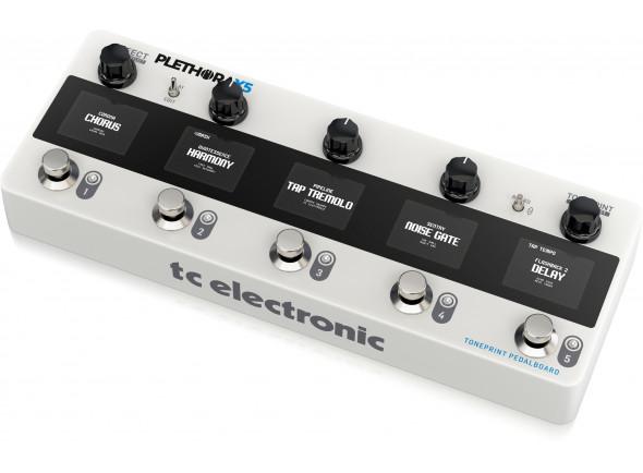 Pedaleiras para guitarra elétrica TC Helicon  Plethora X5