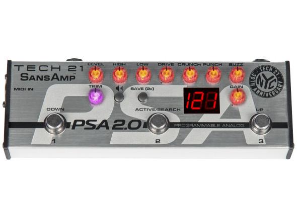 Pedaleiras para guitarra elétrica Tech 21  PSA 2.0 SansAmp