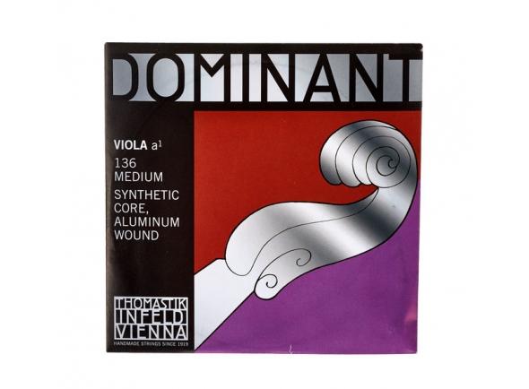 Cordas para Viola Thomastik Dominant A Viola medium