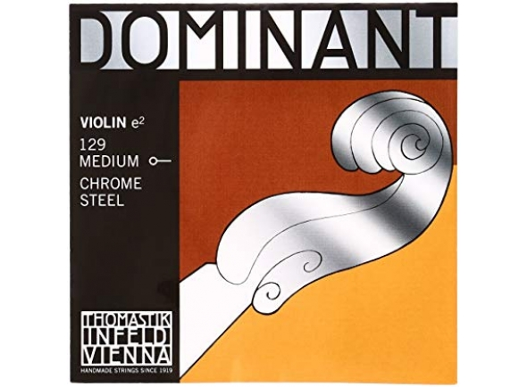 Cordas Thomastik-Infeld Dominant Violin Mi 129 1/2 Medium