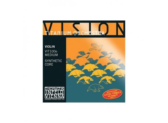 Cordas Thomastik Vision Titanium VIT100o
