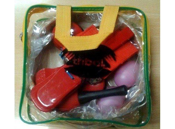 Kit de instrumentos Tribal 6 instrumentos