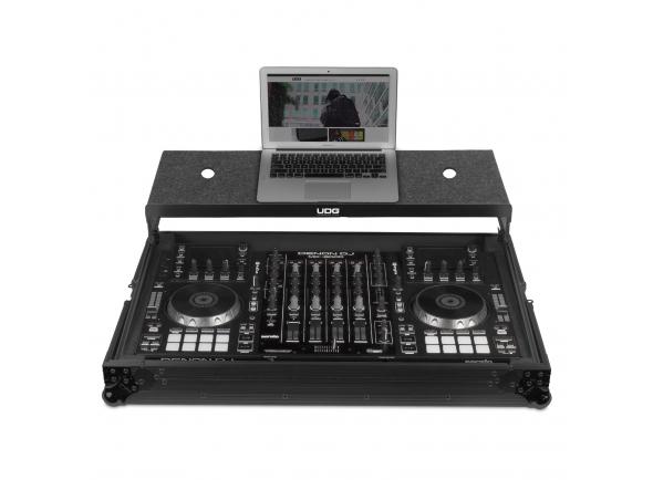 Malas de Transporte DJ UDG Ultimate Flight Case Multi Format XXL Black MK3 Plus (Laptop Shelf)