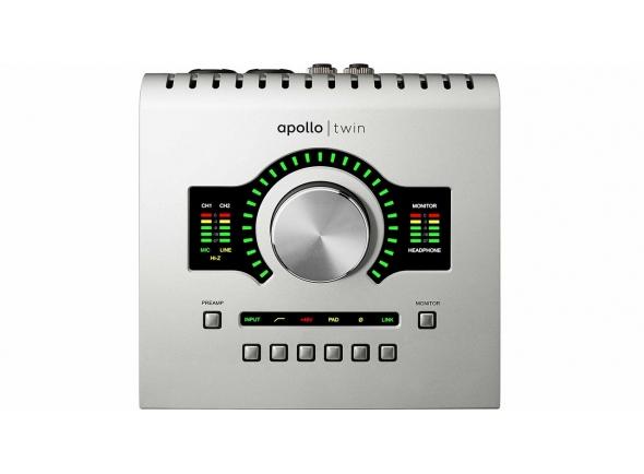 Interfaces de áudio Thunderbolt Universal Audio  Apollo Twin USB Duo