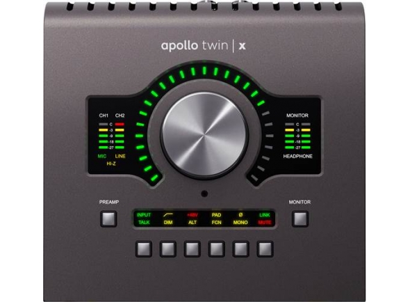 Interfaces de áudio Thunderbolt Universal Audio Apollo Twin X Quad
