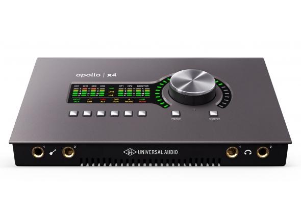 Interfaces de áudio Thunderbolt Universal Audio Apollo X4