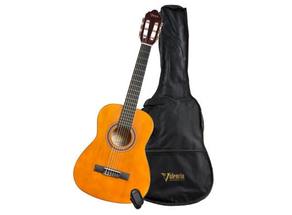 Guitarra Clássica Valencia VC103K 3/4 PACK NAT