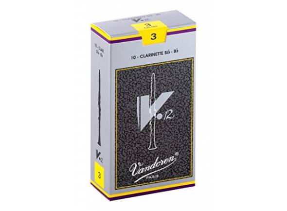 Palheta para clarinete Vandoren V12 2.5 Bb-Clarinet
