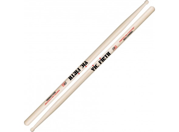 Outras baquetas Vic Firth SD4 Combo Maple Wood