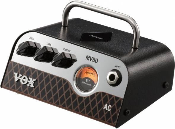 Vox  MV 50 AC   A série MV50 da VOX apresenta uma abordagem verdadeiramente inovadora.