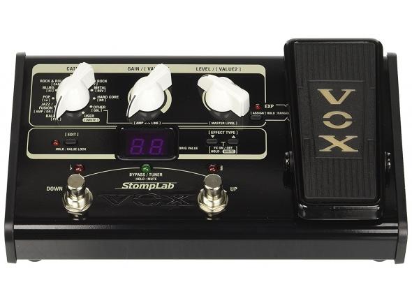 Pedaleiras para guitarra elétrica Vox StompLab IIG