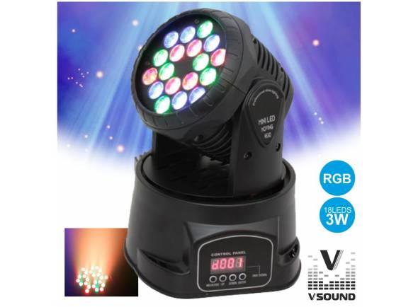 Moving Heads LED VSOUND LEDMV183RGB
