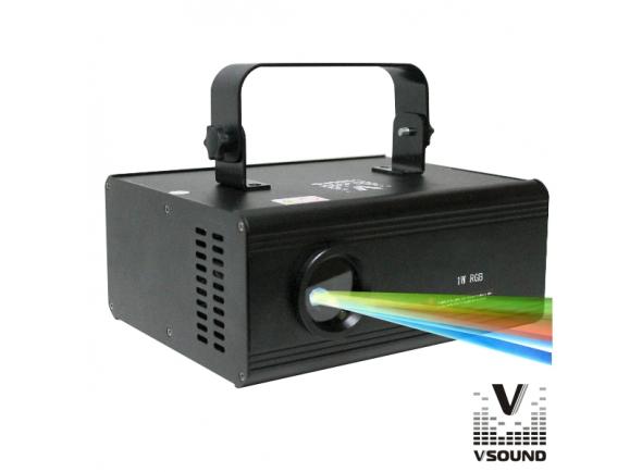 Laser VSOUND VSLASER3DRGB B-Stock