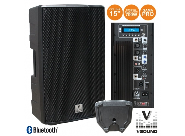 Altavoces amplificados VSOUND VSSPRO15APUSB