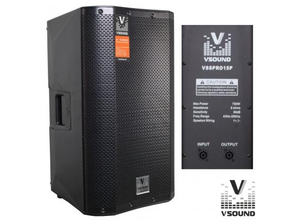 Colunas Passivas VSOUND VSSPRO15P