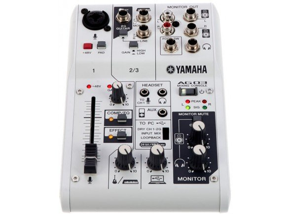 Interface Áudio USB Yamaha AG-03