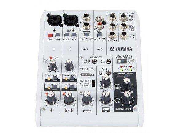 Interface Áudio USB Yamaha AG-06